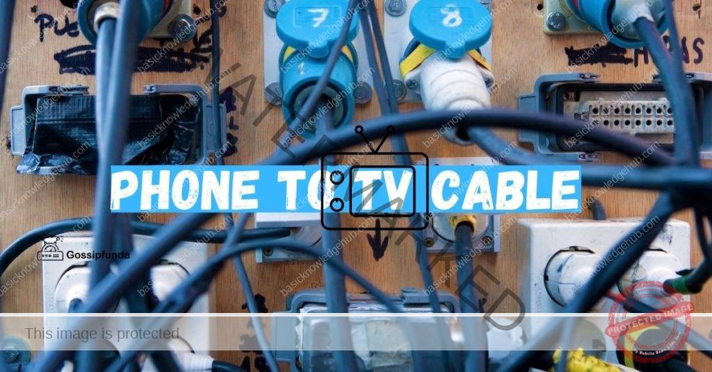 Phone to TV cable