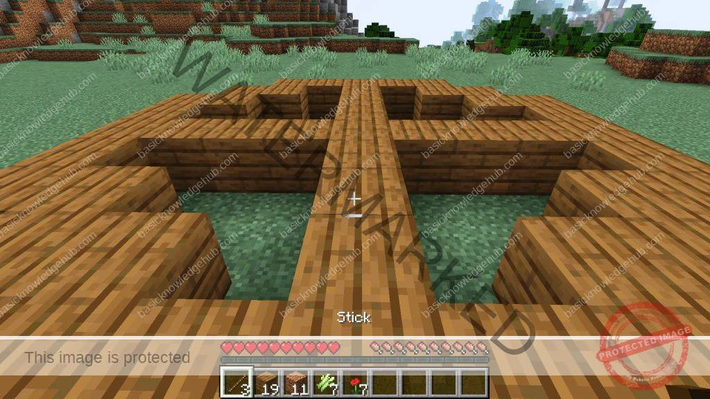 finished creating your Minecraft Circle