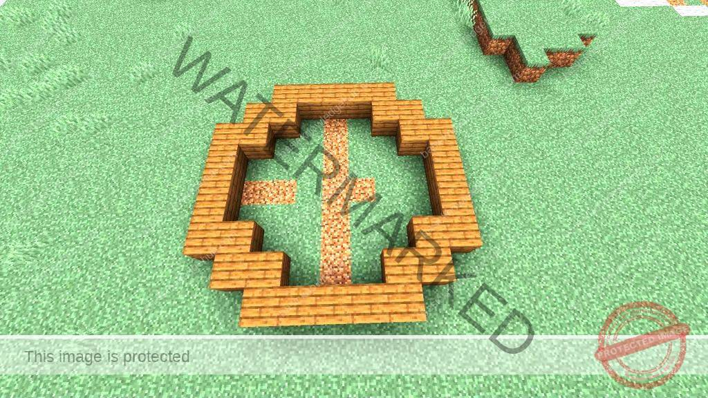 complete circle in Minecraft-2