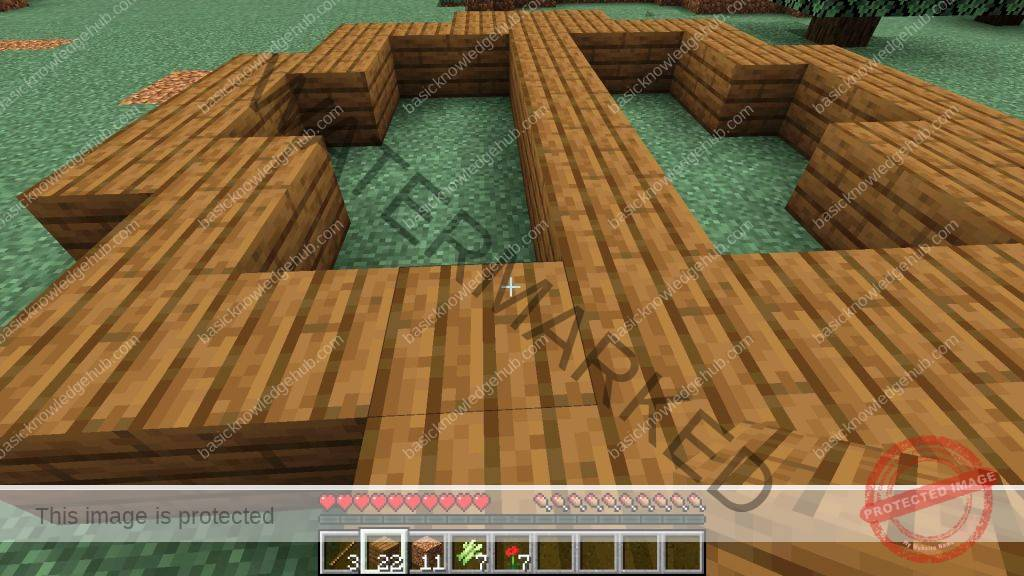 create Oval in Minecraft