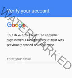 By deactivating the Factory Reset Protection (FRP) for Google Account Verification