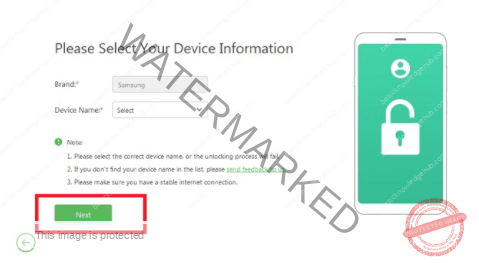 To remove the previously synced Google Account from Android device without the use of Passcode using LockWiper