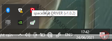 Space Desk icon ready for your action