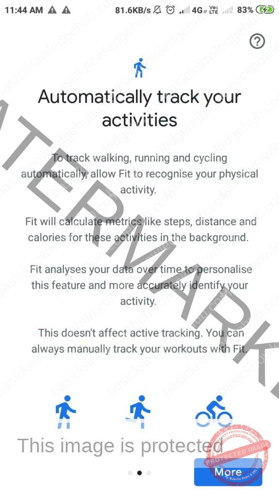 automatically track your activity