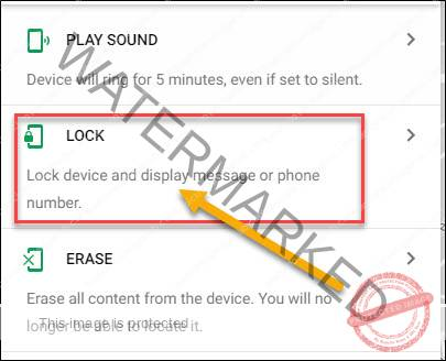 unlock android phone without password Using Android Device Manager
