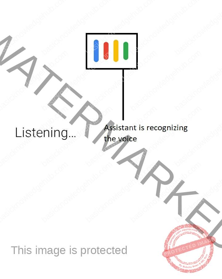 Google Assistant is listening